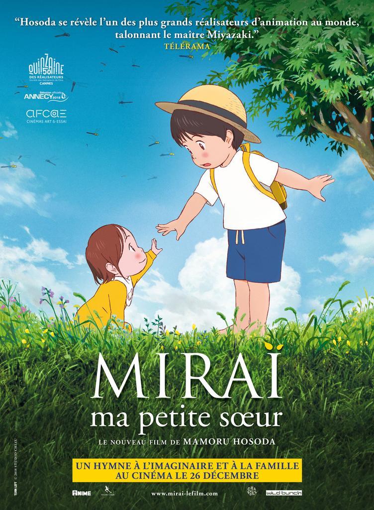 Miraï, ma petite soeur = Mirai no Mirai / Mamoru Hosoda, réal. |
