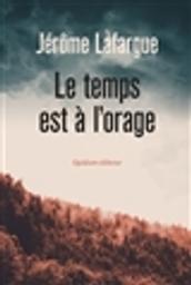 Le temps est à l'orage / Jérôme Lafargue | Lafargue, Jérôme (1968-....). Auteur