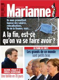 Marianne. 1203, Ven 3 Avr. 2020  