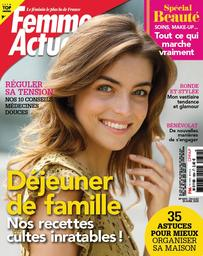 Femme actuelle. 1854, Lundi 6 Avril 2020 |