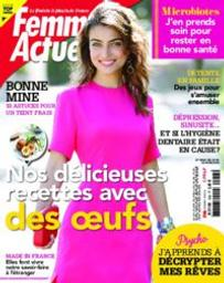 Femme actuelle. 1856, Lundi 20 Avril 2020 |