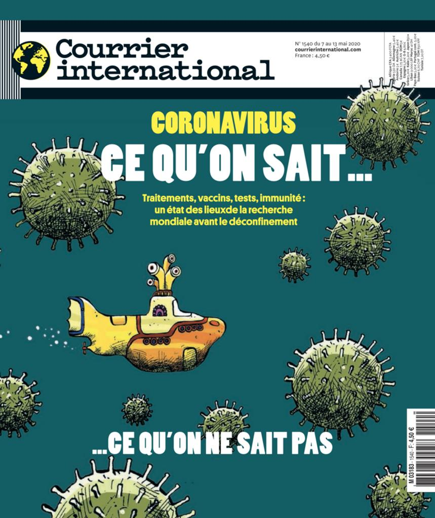 Courrier international. 1540, Jeudi 4/Juin/2020 |
