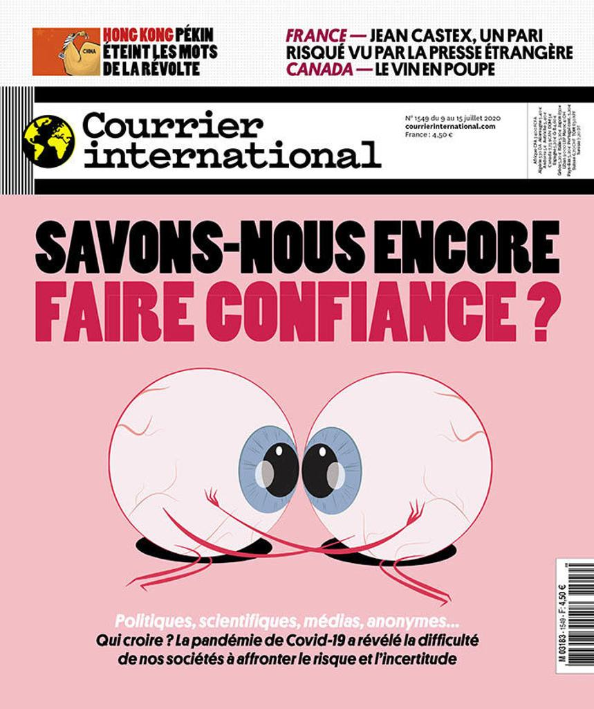 Courrier international. 1549, 9 au 15 juillet |