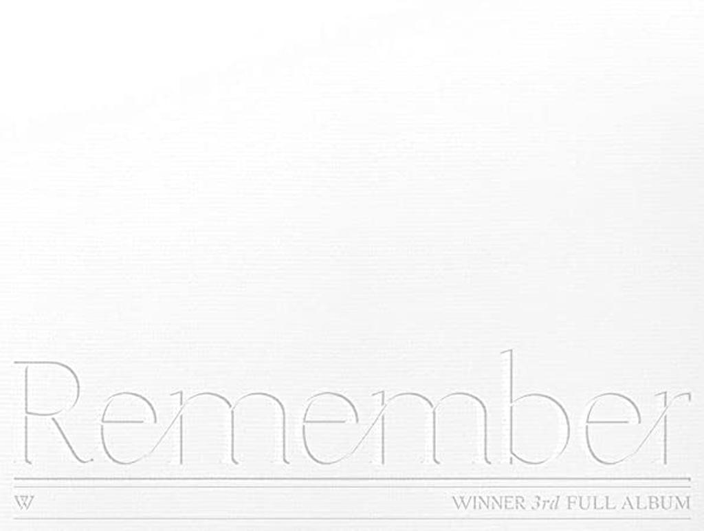 Remember / Winner | Winner. Chanteur