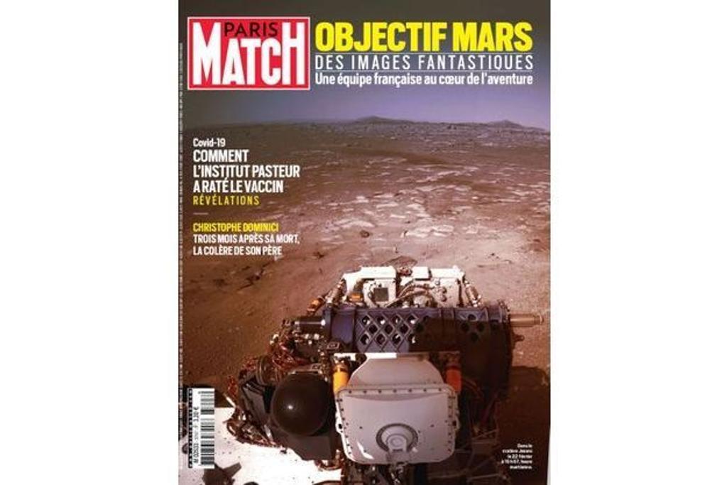 Paris Match. 3747, Jeudi 25 Février 2021 |