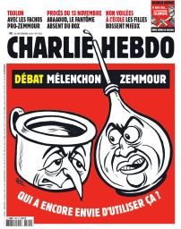 Charlie Hebdo. 1522, Mercredi 22/Septembre/2021 |